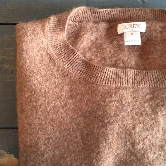 J Crew Factory Sweaters Camel Jcrew Factory Cottonwool Teddie